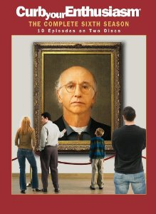 Curb Your Enthusiasm: The Complete Sixth Season DVD cover