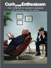 Curb Your Enthusiasm: The Complete Seventh Season DVD cover
