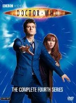 Doctor Who complete fourth series DVD cover