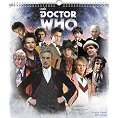Doctor Who Wall Calendar 2017