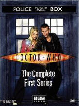 Doctor Who DVD season 1 cover