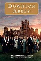 Downton Abbey Engagement 2017 Calendar