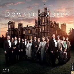 Downton Abbey 2017 Wall Calendar