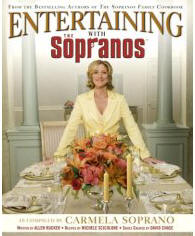 Entertaining with the Sopranos book cover