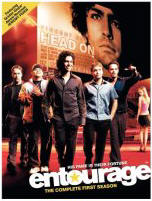 Entourage season 1 DVD cover