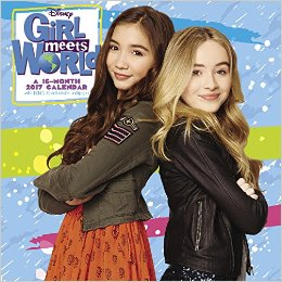 Girl Meets World 2017 Wall Calendar