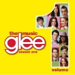 Glee CD vol. 1 cover