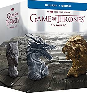 Game of Thrones Seasons 1-7 DVD cover