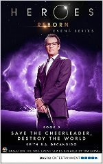 Heroes Reborn - Book 5: Save The Cheerleader, Destroy The World cover