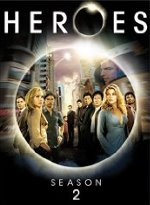 Heroes DVD #2 cover