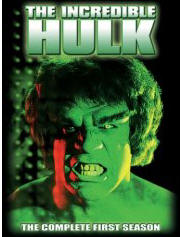 Incredible Hulk season 1 DVD cover