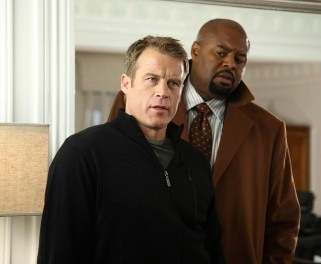 Mark Valley and Chi McBride