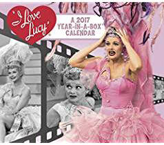 I Love Lucy Year in a Box Calendar 2017