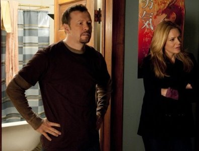 Donnie Wahlberg and Mary McCormack