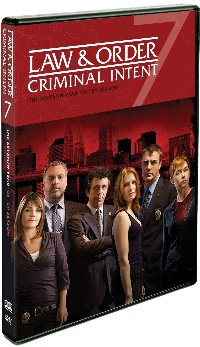 Law & Order: Criminal Intent: Year Seven DVD cover
