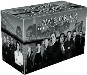 Law & Order: The Complete Series DVD cover