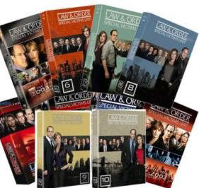 Law & Order: Special Victims Unit SVU - Complete Seasons 1-7 Box Sets