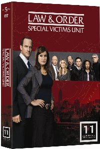 Law & Order: Special Victims Unit - Year 11 DVD cover