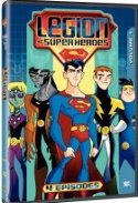 Legion of Superheroes DVD cover