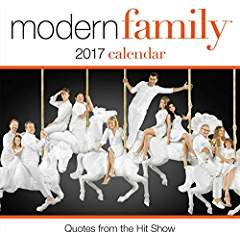 Modern Family Day to Day Calendar