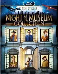Night at the Museum Blu-ray collection cover