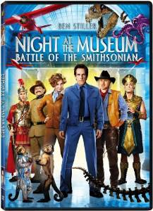 Night at the Museum: Battle of the Smithsonian dvd cover
