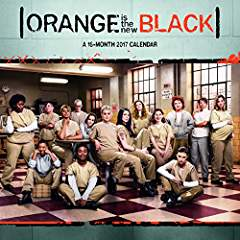 Orange Is the New Black 2017 Wall Calendar