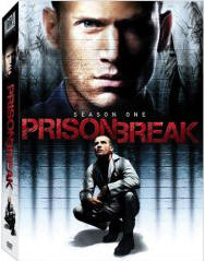 Prison Break season 1 DVD cover