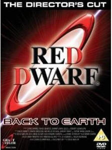 Red Dwarf Back to Earth DVD cover