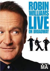 Robin Williams Live on Broadway DVD cover