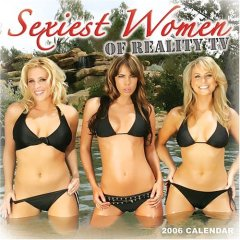 Sexiest women of reality TV calendar pic