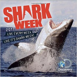 2017 Shark Week Wall Calendar