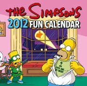 The Simpsons calendar