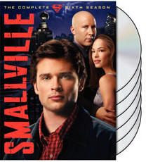 Smallville DVD 6th season cover