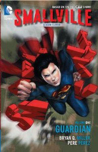 Smallville season 11 comic book cover