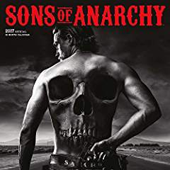 Sons of Anarchy 2017 Calendar