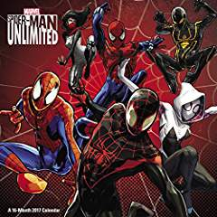 Spider-Man Unlimited Wall Calendar