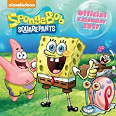 Sponge Bob Square Pants Official 2017 Calendar