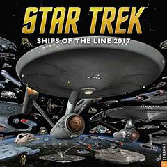 Star Trek 2017 Calendar: Ships of the Line