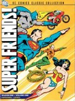 Superfriends season one DVD cover