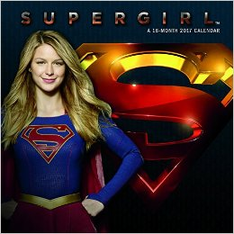 Supergirl 2017 Wall Calendar