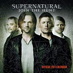 Supernatural 2017 Square Calendar