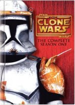 Star Wars The Clone Wars The Complete Season One DVD cover