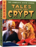 Tales from the Crypt 6th season DVD cover