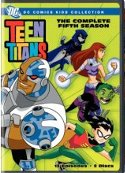 Teen Titans 5th season DVD cover