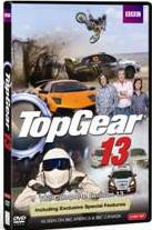 Top Gear: Complete Season 13 DVD cover