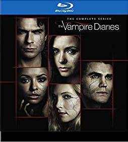 The Vampire Diaries Complete series DVD cover