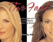 Two-Faced Confessions of a Soap Opera Make-Up Artist book photo
