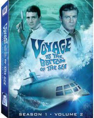 Voyage to the Bottom of the Sea Season 1 Vol. 2 DVD cover