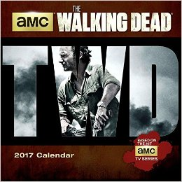 Walking Dead Mini Calendar 2017